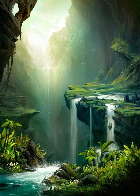 17 Ideas Nature Backgrounds Landscape Design Reference In 2020 Fantasy Art Landscapes Environment Concept Art Fantasy Landscape