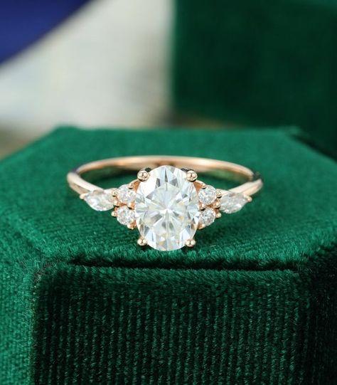 Dream Engagement Rings, Rose Gold Engagement Ring, Engagement Ring Settings, Vintage Gold Engagement Rings, Solitaire Engagement, Engagement Gifts, Gold Wedding Rings, Country Engagement, Wedding Rings Vintage