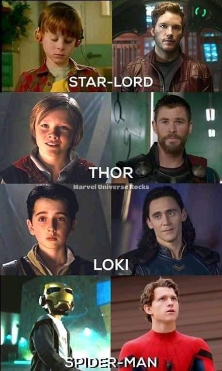 I think its cute cause Spider-Man looked up to other heroes and became one himse...