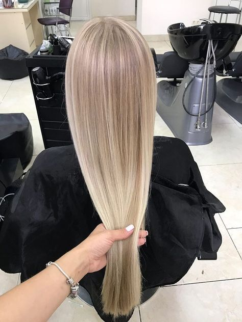 #Hair goals #Blonde #Air contact #Balayage #Hair