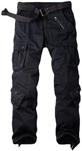 Comaba Men Destroyed Slim-Tapered Rugged Wear Denim Pants