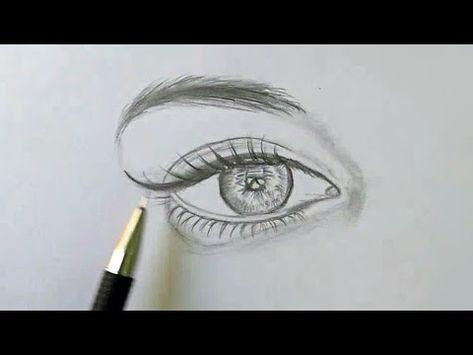 تعلم رسم العين بالرصاص بخطوات سهله Youtube Pencil Art Drawings Art Drawings Simple Art Drawings