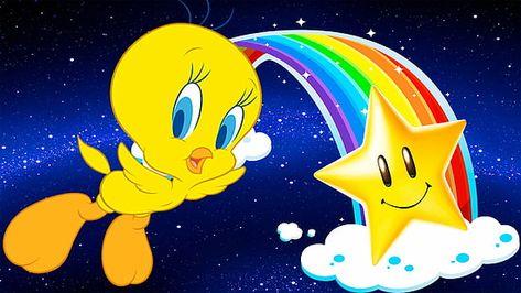 HD wallpaper: Cartoon Looney Tunes Tweety Bird Movie Star Graphic Background Desktop Hd Wallpaper 1920×1080