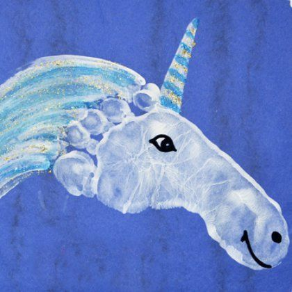 footprint unicorn Más kids crafts 25 Magical Unicorn Crafts for Kids Daycare Crafts, Baby Crafts, Toddler Crafts, Preschool Crafts, Fun Crafts, Arts And Crafts, Children Crafts, Crafts For Babies, Infant Crafts