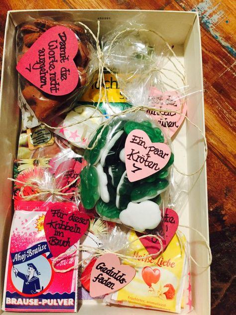 Kleine Geschenke in der Ehe-Glücksbox