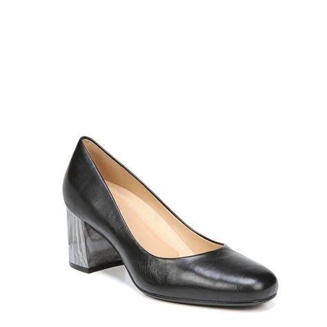 1d7f8392c8a0 Naturalizer Women s Whitney Narrow Medium Wide Pump Shoes (Black Leather)   pumpshoes