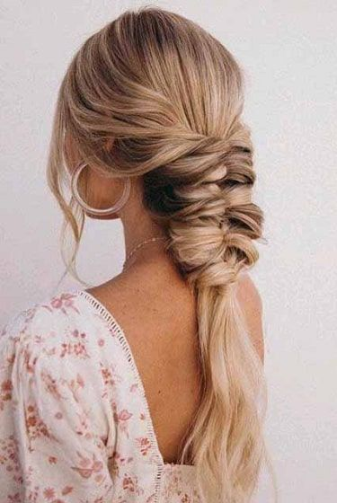 Wavy 10 Piece Clip Set Extension New Hairstyle For Girls In 2020 Braids For Long Hair Easy Wedding Guest Hairstyles Simple Wedding Hairstyles