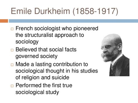 https www thoughtco com emile durkheim relevance to sociology today 3026482
