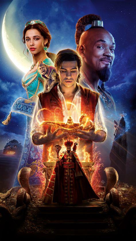 Aladdin Movie Poster 8k Wallpapers | hdqwalls.com