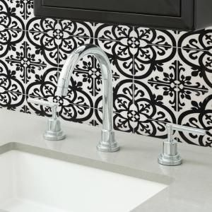 Inhome Avignon 10 In X 10 In Black Peel And Stick Backsplash Tiles Nh2956 The Home Depot Self Adhesive Backsplash Self Adhesive Backsplash Tiles Tile Backsplash