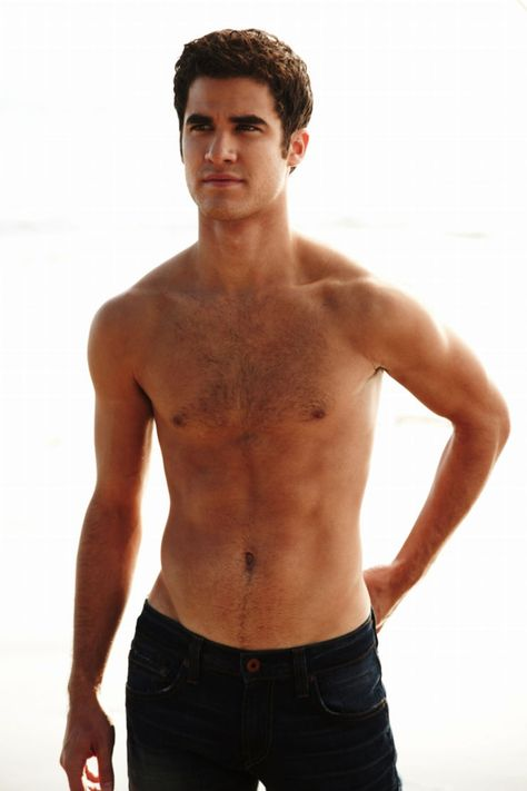 Darren Criss Wet Sexy Naked Shirtless Photo Shoot From People Magazine Glee Star