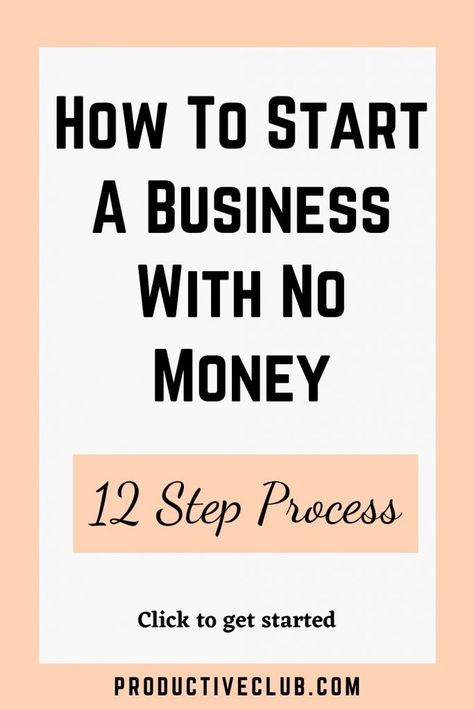 How To Start A Small Business With No Money - Small Business Tips