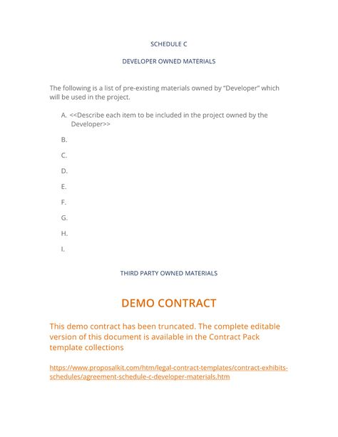 Project Contract Templates  TomuCo