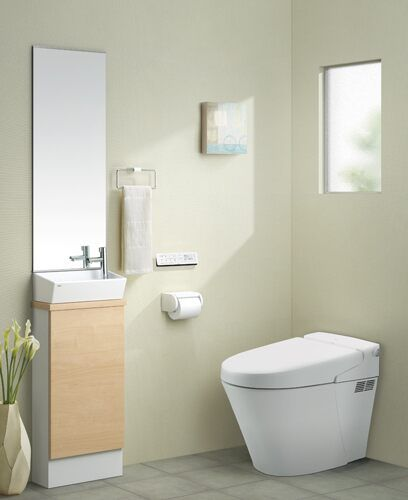 Lixil トイレ トイレ手洗い キャパシア 施工イメージ 0 5坪 ベッセル型4 Lixil トイレ トイレ インテリア トイレ
