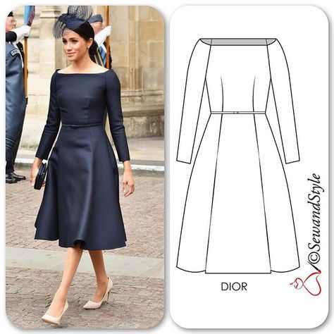 The bespoke Dior dress that wore to the RAF celebration is exactly how I had envisioned her wedding dress should have fit at the bodice. Dior did a splendid job, this is a dream dress.
