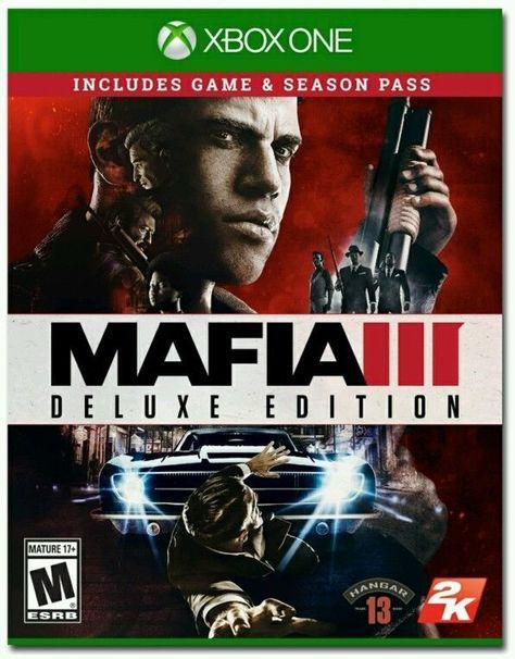 Mafia 3 Iii Deluxe Edition 2016 For Xbox One Or S Season Pass