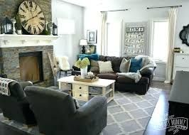 Teal Gray Living Room Home Deseign Ideas Brown Living Room