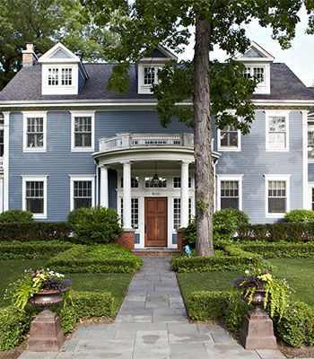 Get The Look Georgian Style Architecture Architecture Colonial Exterior Architecture Design