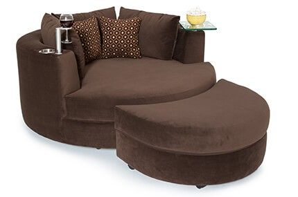 Seatcraft Swivel Cuddle Couch 2 Materials 95 Colors Cuddle Couch Media Room Chairs Leather Dining Room Chairs