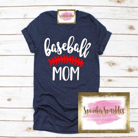 Ladies Baseball T-Shirt Baseball Mom Shirt Funny Women Tee Shirt Sports