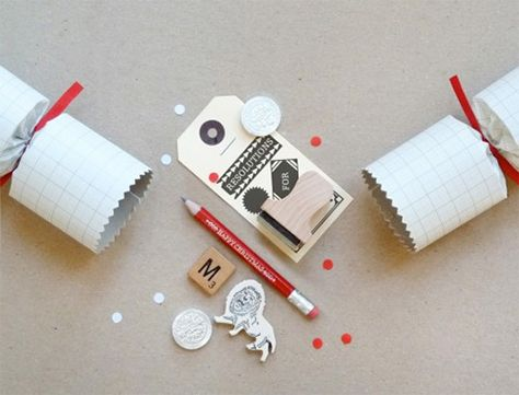 Christmas Crackers Contents.Homemade Christmas Cracker Contents A Pencil A Tag