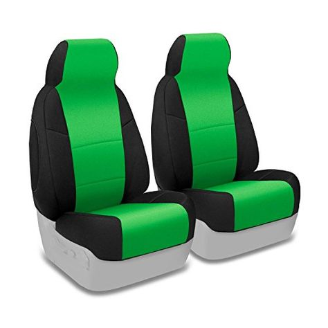 Coverking Custom Fit Front 5050 Reclining Bucket Seat Cover For Select Jeep Wrangler Models Neopre Bucket Seat Covers Jeep Wrangler Models Car Interior Design