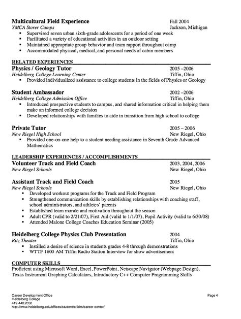 College tutor resume 7 best resume samples images on pinterest substitute teacher resume sample httpresumesdesign college tutor resume pronofoot35fo Image collections