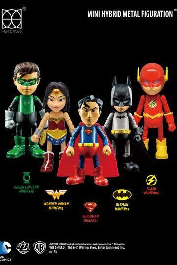 Justice League DC Herocross Action Figure Toy Wonder Woman Superman Batman
