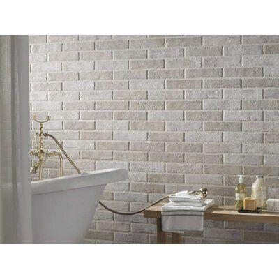 Encore Surfaces Tribeca 2 X 10 Porcelain Brick Look Wall Floor Tile Brick Effect Wall Tiles Brick Effect Tiles Brick Tiles