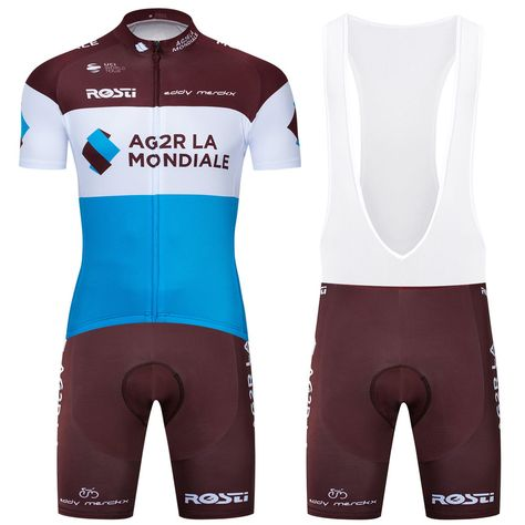 0c6dc290a 2019 Team Men s Cycling Clothing Set Short Jersey Bib Shorts Shirt Pants  Pad Set  Unbranded