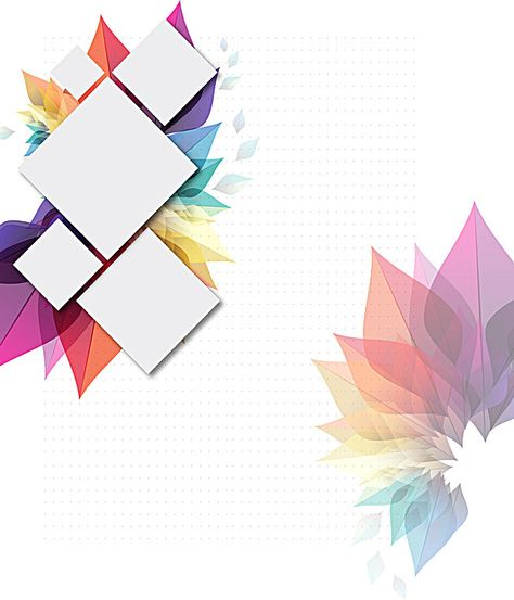 Business watercolor geometric vector background brochure