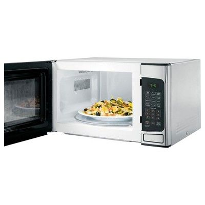 Ge 1 1 Cu Ft Countertop Stainless Steel Microwave Oven Certified