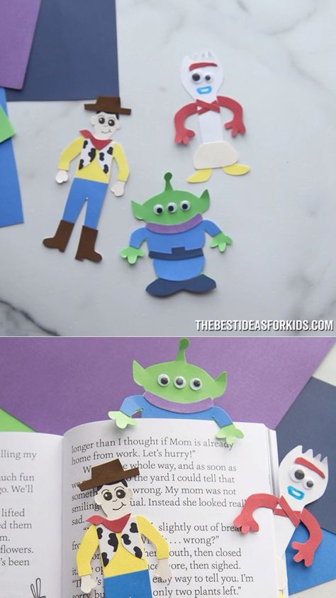 TOY STORY CRAFT - perfect craft for a Toy Story birthday party!