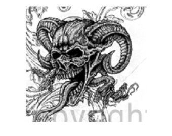 Image Result For Demon Skull Ram Horns Drawings With Images