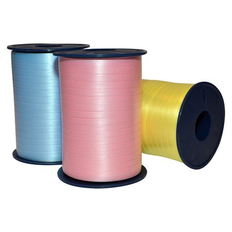 "10 yards Metallic teal 3//16/"" curling ribbon gift wrap party supplies"