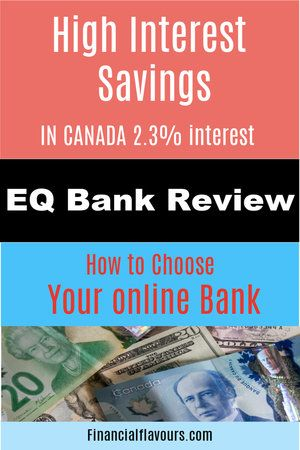 How To Choose The Right Canadian Savings Account Eq Bank Review