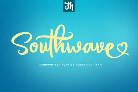 Southwave (Font) by feydesign · Creative Fabrica