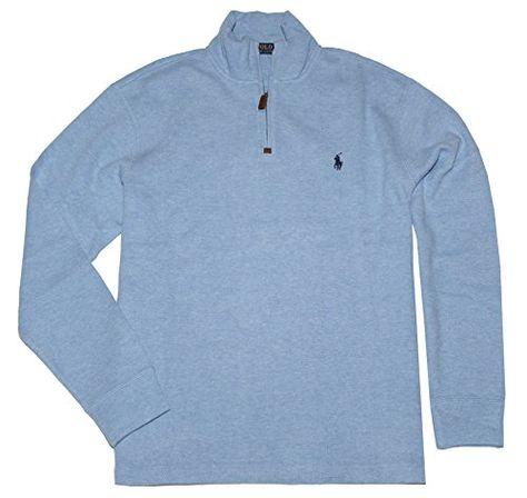 27afee7f824 POLO RALPH LAUREN Polo Ralph Lauren Men S Half Zip French Rib Cotton Sweater.   poloralphlauren  cloth
