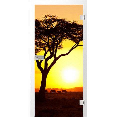 Afrika Fotoprint Glastur Erkelenz Deinetur De Fotomotive Glastur Turen Und Zargen