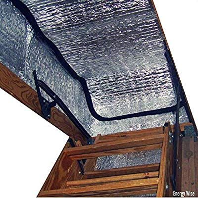 Energy Wise Attic Stairway Cover 25 X 54 X 11 R Value Of 14 5 Attic Stairs Insulation Tent Attic Stair Insulation Attic Stairs Attic Door Insulation