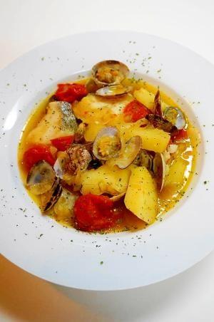 鱈とアサリの旨みが凝縮 タラとアサリのブイヤベース レシピ 作り方 by oppeke22 楽天レシピ レシピ レシピ 料理 レシピ 料理