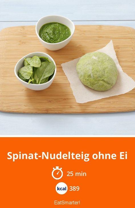 Spinat-Nudelteig ohne Ei - #nudelteig #spinat - #Faith'sVerschiedeneNudelRezepte