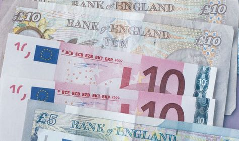 Pound V Euro Gbp Exchange Rate At 10 Month High As Ecb Minutes -