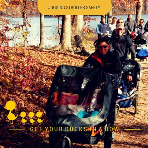 jogging stroller safety tips