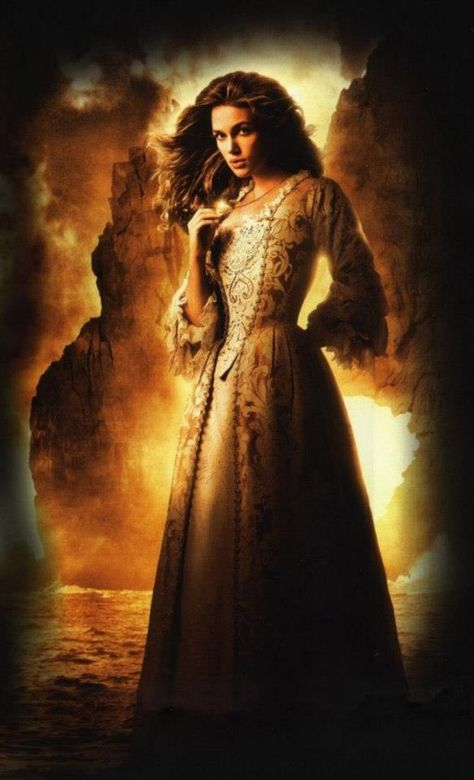 Elizabeth Swann gown from Pirates of the Carribean