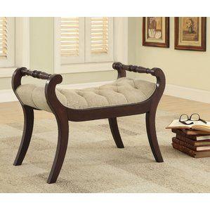 Best Price Harleysville Upholstered Bench Dar Home Co Upholstered Bench Bedroom Furniture Upholstered Bench