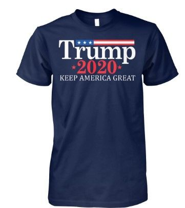 Political Tee Donald Trump for 2020 Women/'s V-Neck T-shirt Make America Greater