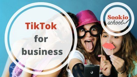 Tiktok For Business The Basic Ways To Use Tiktok To Market Your Business Social Media Design Graphics Social Media Marketing Infographic Logo Design Tutorial