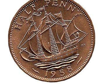 Three Pence 3p Coin Coins for collectors Circulated British 1957 Threepenny Bit Great Britain