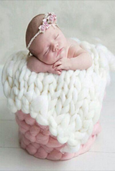 Knit 15in x 20in Blanket Newborn Prop Basket Filler (Multiple Colors A – Backdrop Outlet